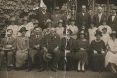 Mrs Winsmore-Hooper outside Kents Green Court