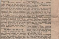 Mrs Winsmore-Hooper Obituary